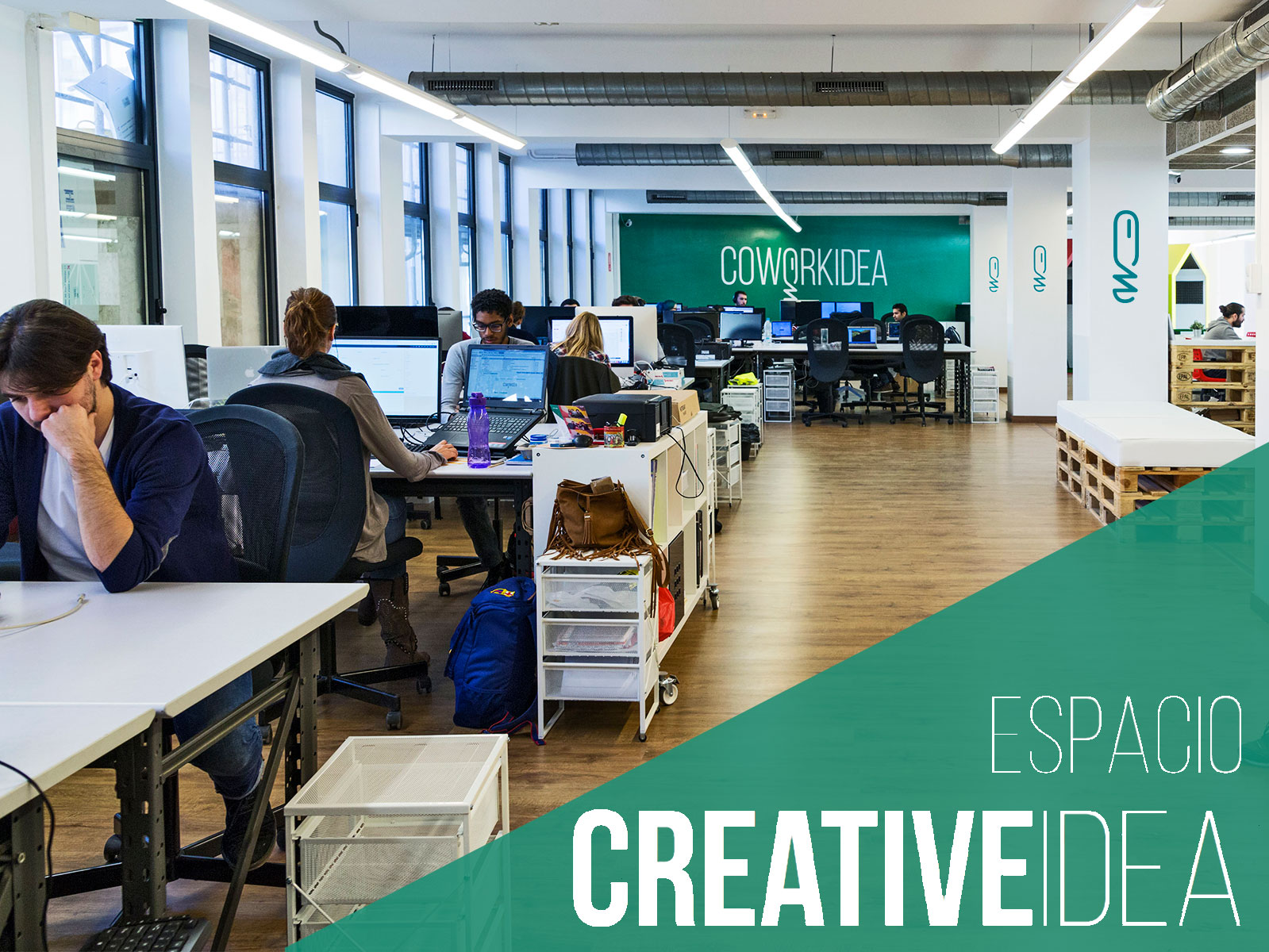 Espacio Crative Idea para creativos, freelancers y nómadas digitales