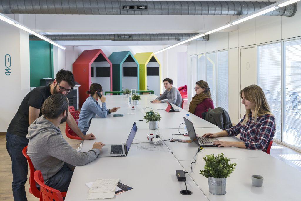 Coworking Barcelona Coworkidea, espacio para emprendedores