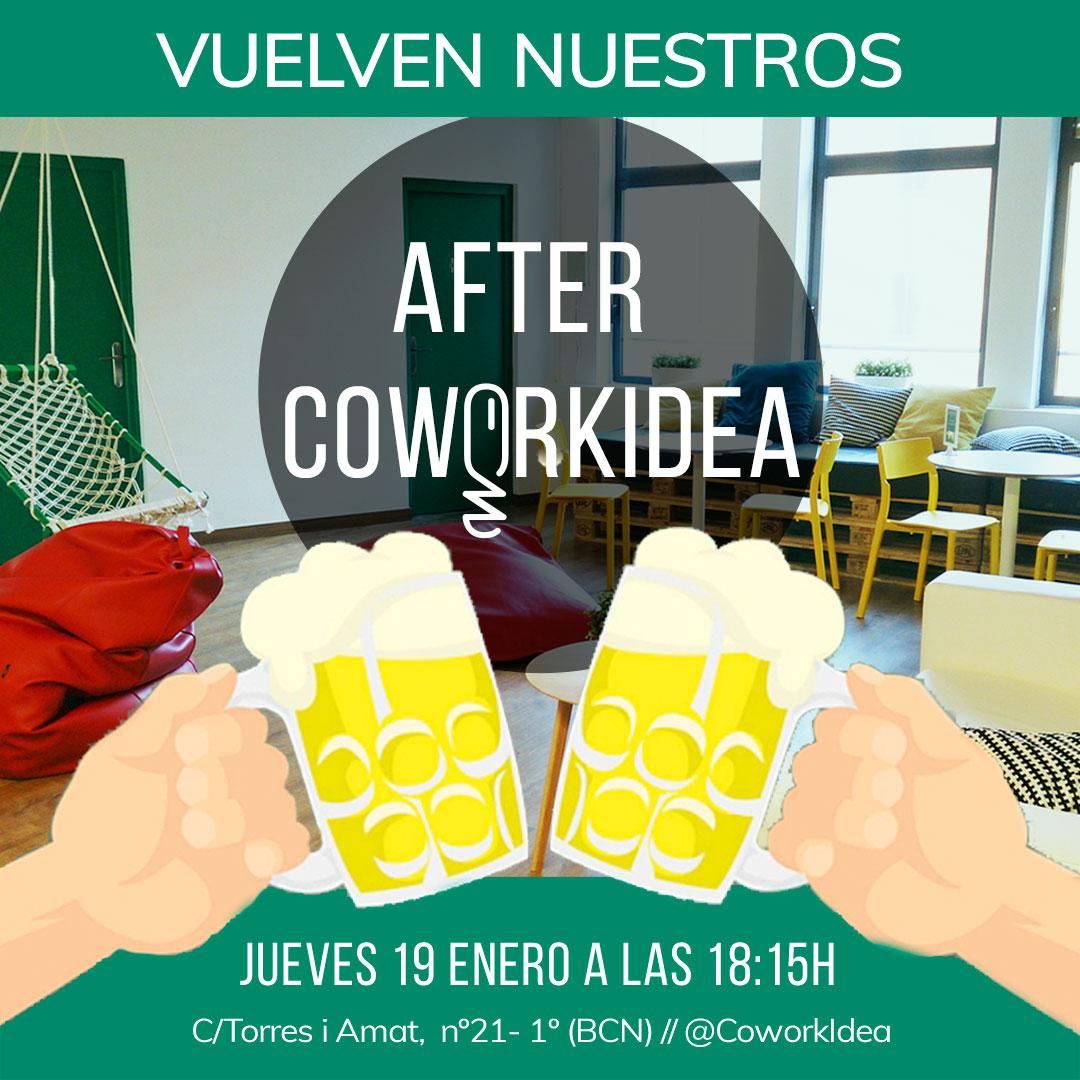 After cowork, relax despues del trabajo en nuestro coworking