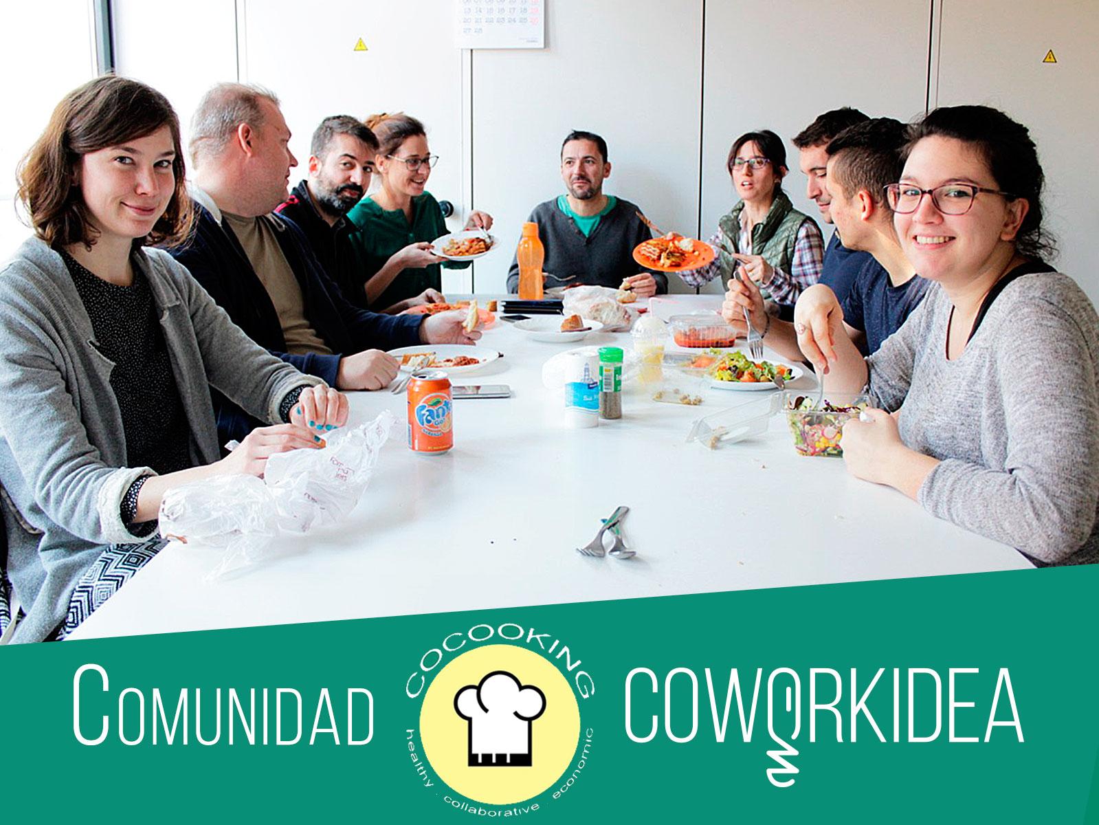 Cocooking, un proyecto colaborativo y nutritivo en el coworking