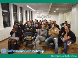 Primer CoFoundersLab Matchup Barcelona… ¡En CoworkIdea!