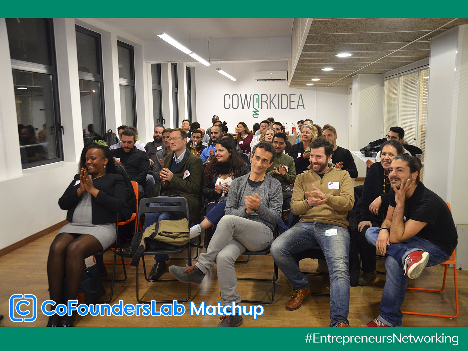 Co Founders Lab Matchup en Coworkidea