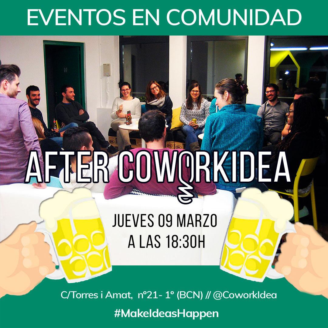 After Coworkidea, eventos en comunidad en nuestro coworking