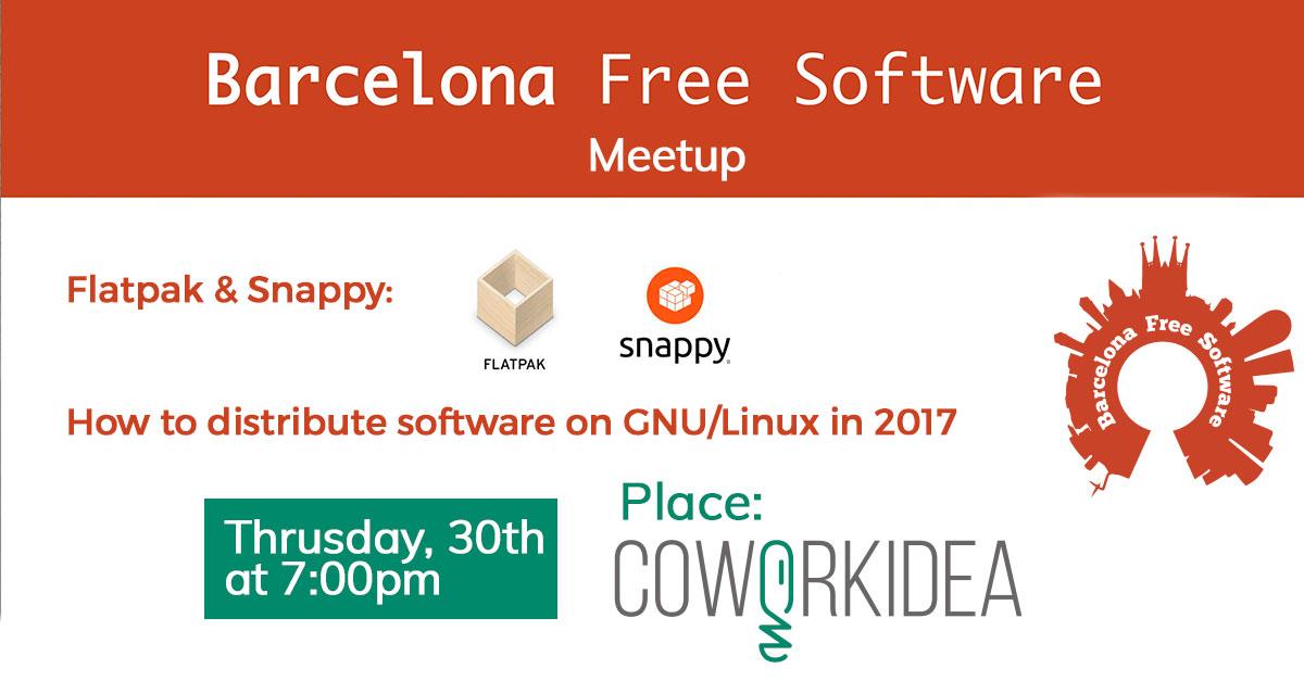 Barcelona Free Software en Coworkidea
