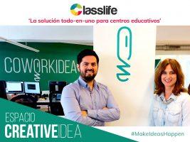 Crear, trabajar, innovar y compartir. ¡Classlife fluye en CoworkIdea!