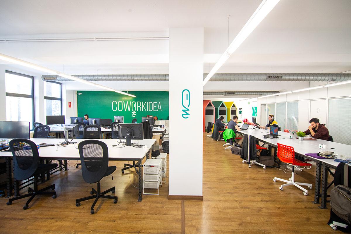 Oficina compartida coworking