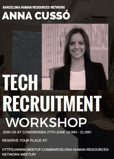 Tech Recruitment Workshop en Coworkidea