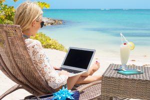 Ventajas del coworking en verano