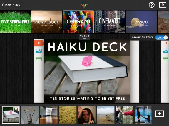 hakiu deck presentation program